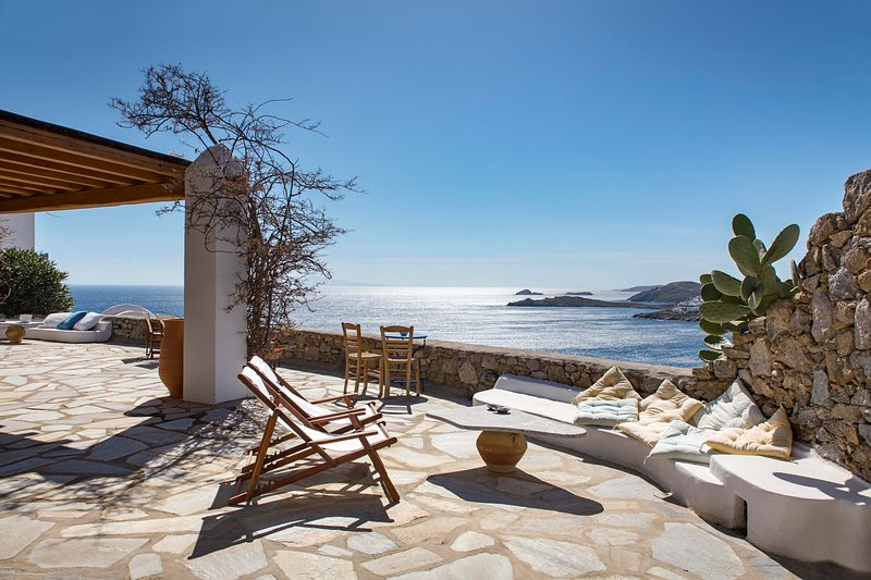 Charm villa Mykonos_Ornos Bay, holiday rental in Ornos