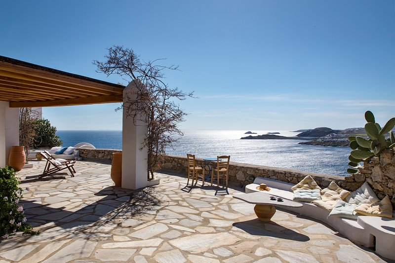 Charm Villa Mykonos / Ornos Bay, holiday rental in Ornos