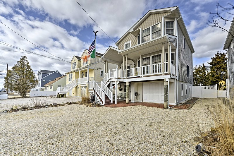 You're sure to make lasting memories at this Ship Bottom home!