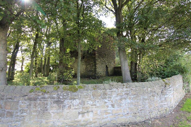 La tour Pelé historique à Burradon Farm