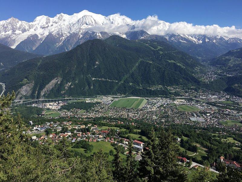 Passy au pied du Mt Blanc