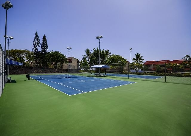 Newly Resurfaced Association tennis courts!