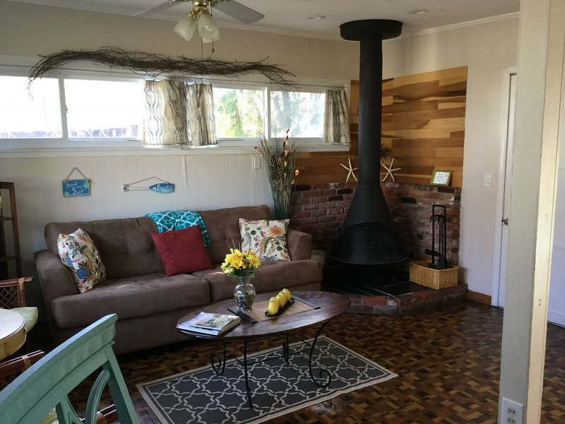 2 nd Family living area with fireplace