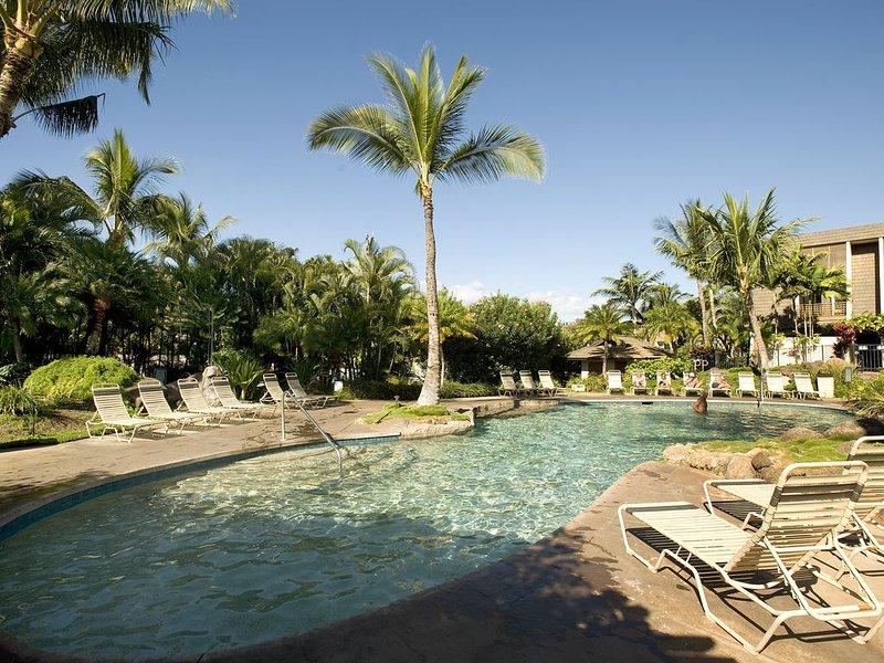 Hotel, Resort, piscina, agua, Losa