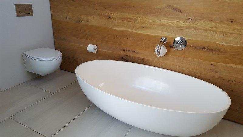 Cottage Chenin - Salle de bains / Baignoire