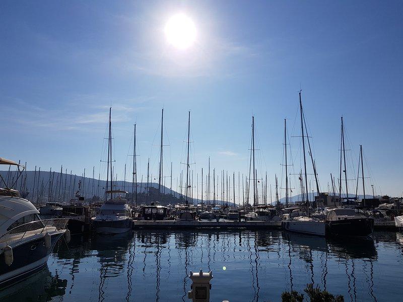 Il porto turistico di Bodrum è facilmente raggiungibile a piedi