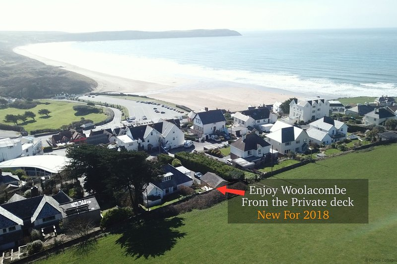 WOOLACOMBE LITTLE QUEST | 1 Bedroom, Ferienwohnung in Woolacombe
