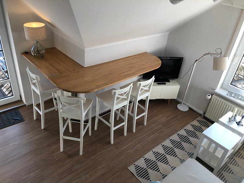 Ferienwohnung Petine Langeoog - Essbereich