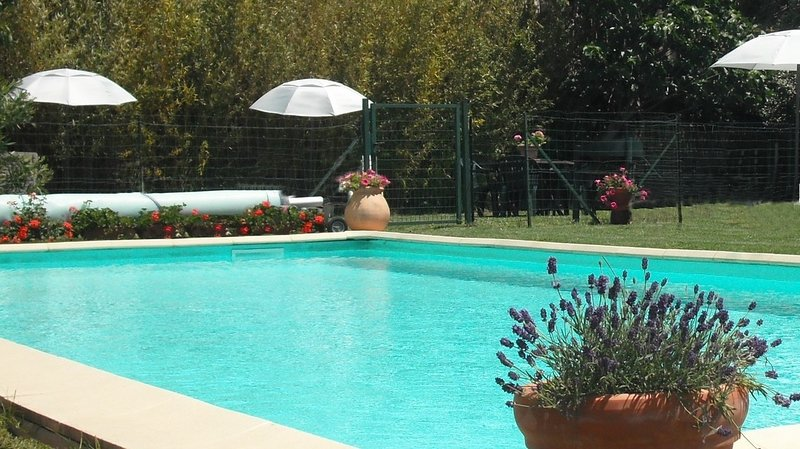 Gite 3, Holiday apartment, heated pool close to Carcassonne... perfect holidays, vacation rental in Aragon