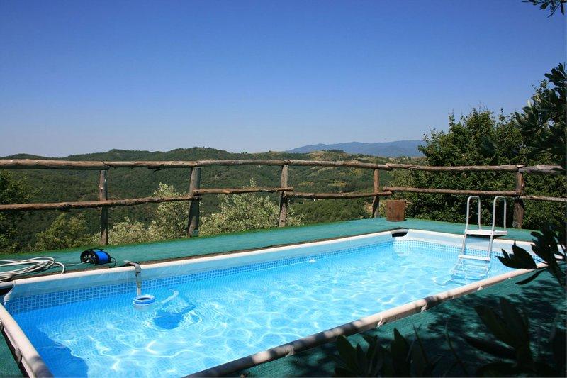 Borgo a Giovi Villa Sleeps 2 with Pool and Air Con - 5490565, holiday rental in Falciano
