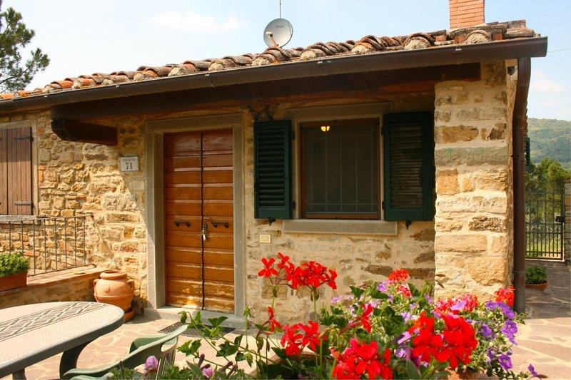LA MONTANINA, location de vacances à Castiglion Fiorentino