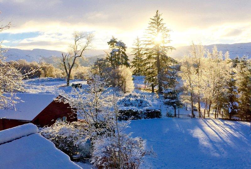 Hill cottage cabins, Ferienwohnung in Fort Augustus