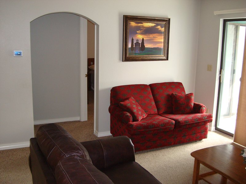 View into Master suite