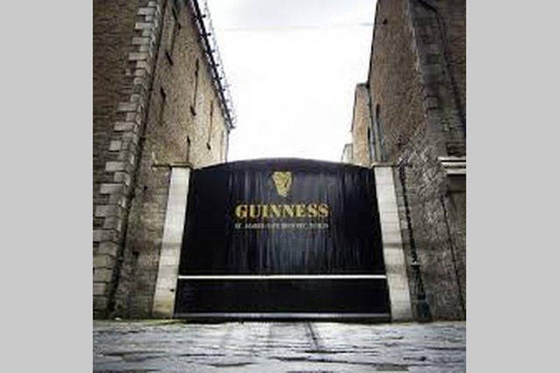 brasserie Guinness landmark- locale