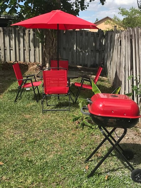 Patio furniture to enjoy during your stay !!!