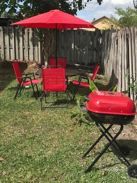 Meubles de patio pour profiter pendant votre séjour !!!