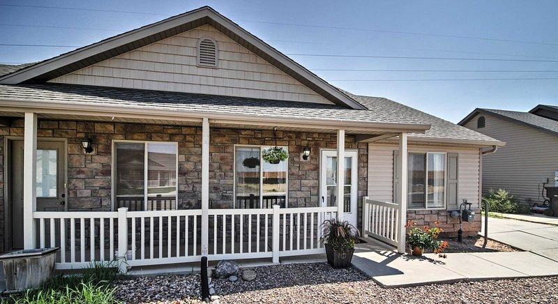 La experiencia de Cedar City de esta acogedor de 2 dormitorios, casa de 1 baño alquiler de vacaciones.