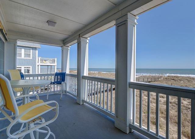 Liviy It Up Oceanfront Deck