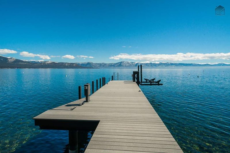Spend an afternoon in pure tranquility on your private pier, which is great for swimming.