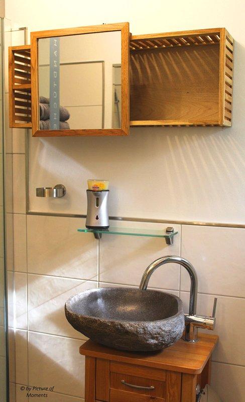 Salle de bains avec walk - in - douche