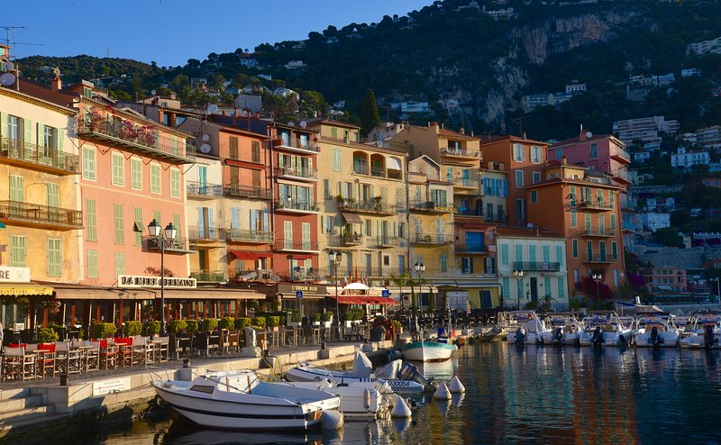 charming seafront of Villefranche