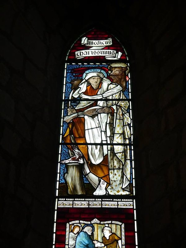 St Martin's Church in Brampton with its Pre-Raphaelite Windows are a must see!