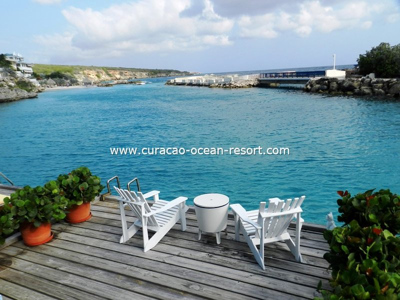 Blue Lagoon Curacao Ocean Resort direct water acces from your private deck, holiday rental in Willemstad