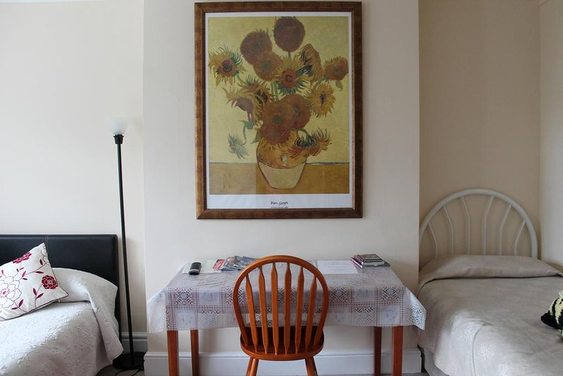 Sunflower Room, sleeps up to four Guests