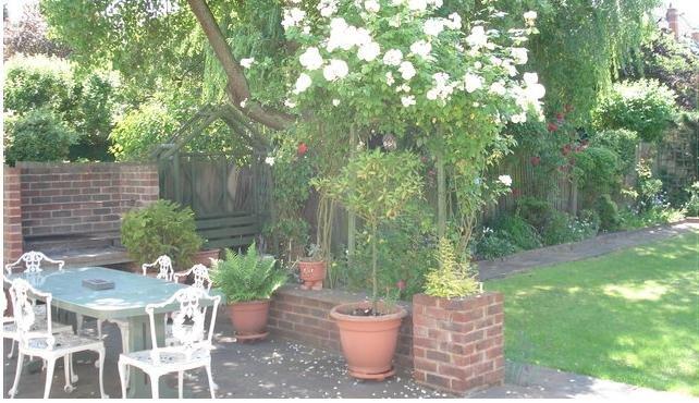 Garden - Barbecue area