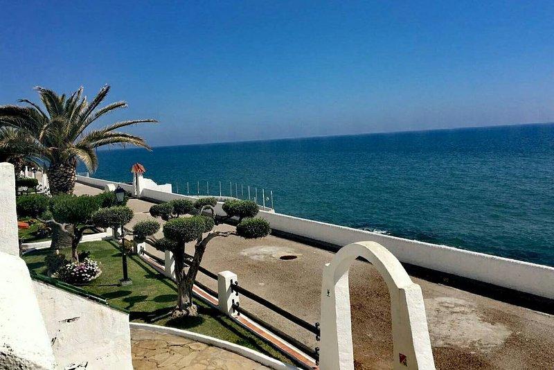 Apartamento frente al mar. Costa dorada en Vilanova i la Geltrú a 7km de Sitges, alquiler de vacaciones en Vilanova i la Geltrú