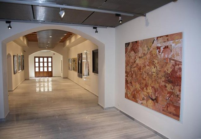 MUSEUM OF CONTEMPORARY ART OF CRETE in Rethymno.  EVERY THURSDAY FREE ENTRANCE.