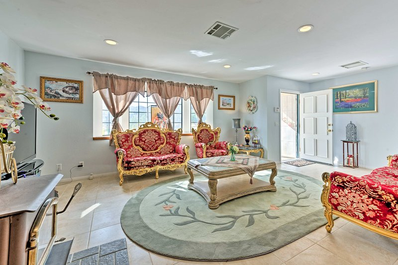 Make your Yucca Valley escape to this 3-bedroom 2-bath vacation rental house!