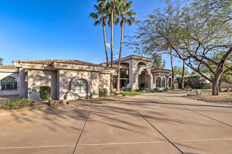 This custom, Paradise Valley luxury home is soon to be a new family tradition!