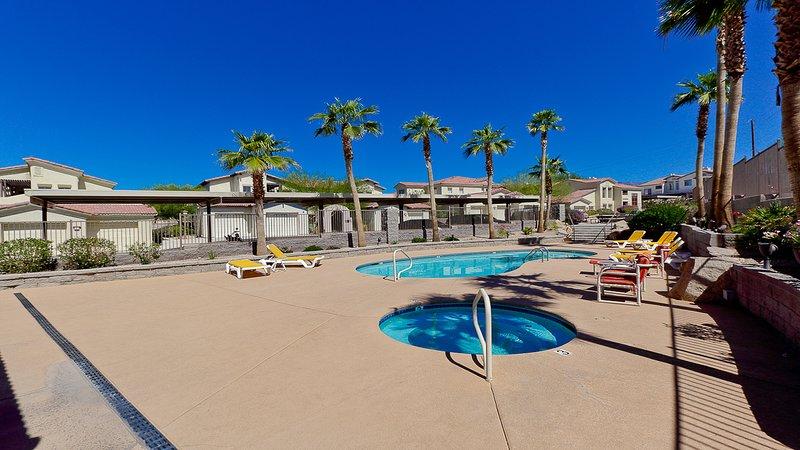 piscina climatizada y spa