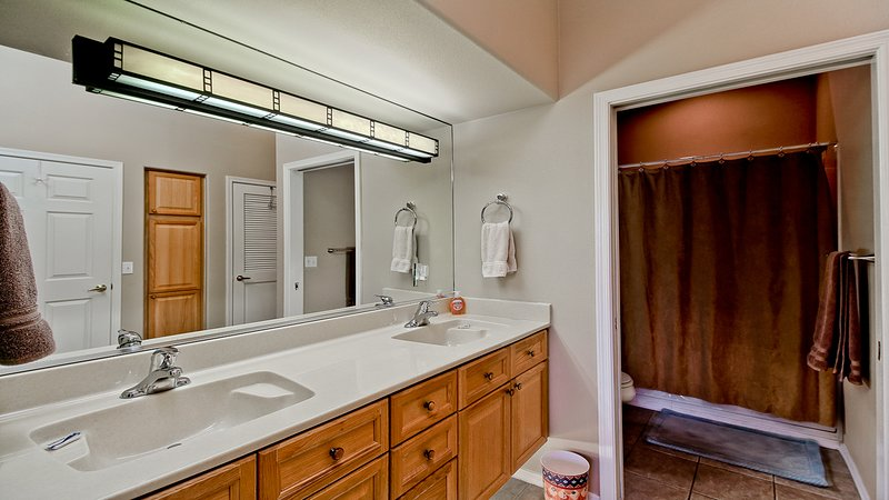 tocador doble lavabo