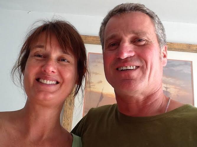Katrina y Arthur, propietarios de Anneth Lowan.