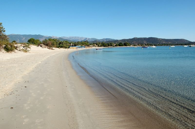 the beach 800 m from the house