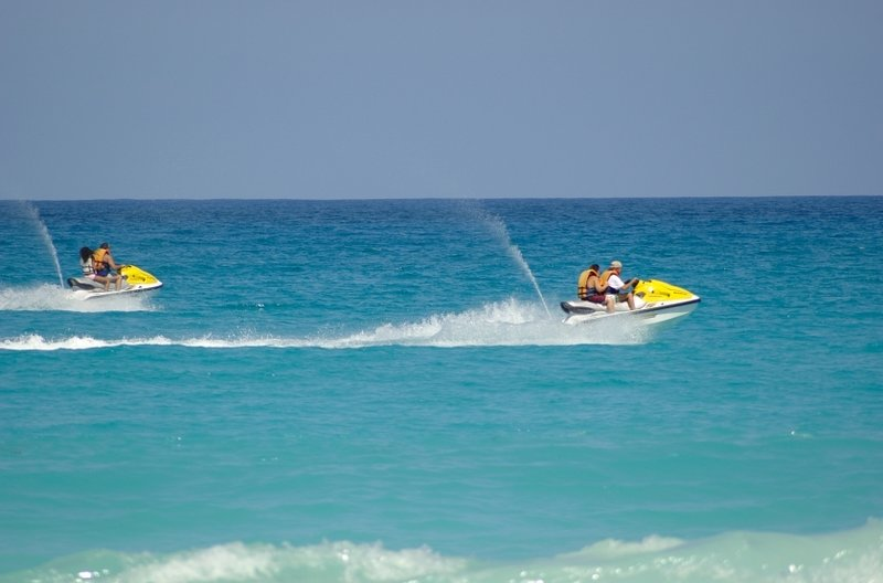 Jet ski en La Boca (15 minutos)!
