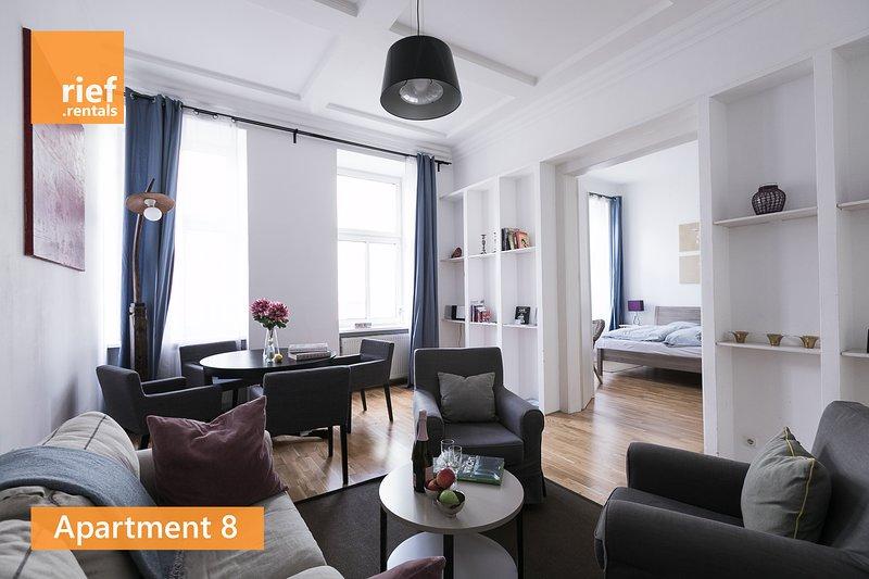 rief.rentals | Apartment 8 in Vienna, alquiler de vacaciones en Viena