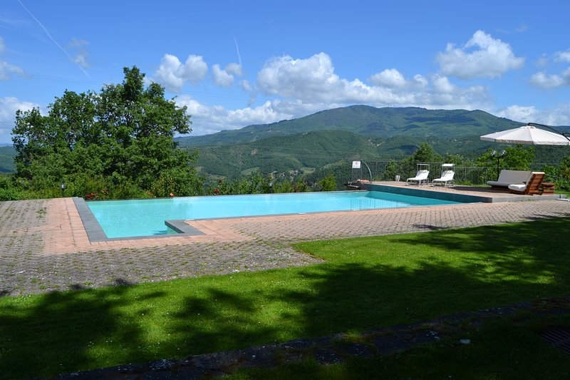 QUIET COUNTRY HOUSE (TOSCANA - AREZZO - ANGHIARI) DOG FRIENDLY, EXCLUSIVE USE, holiday rental in Citerna