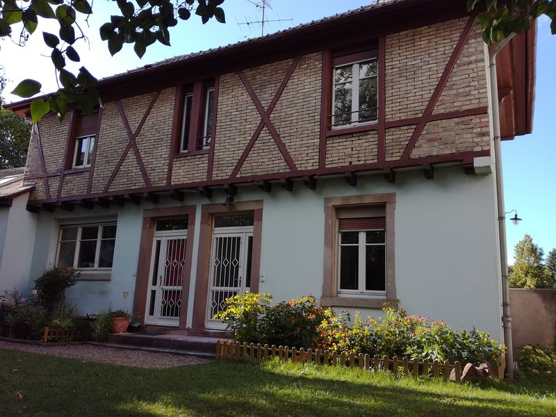 LE PETIT PARC - Appartement/maison de plain pied duplex au fond d'un petit parc, Ferienwohnung in Colmar