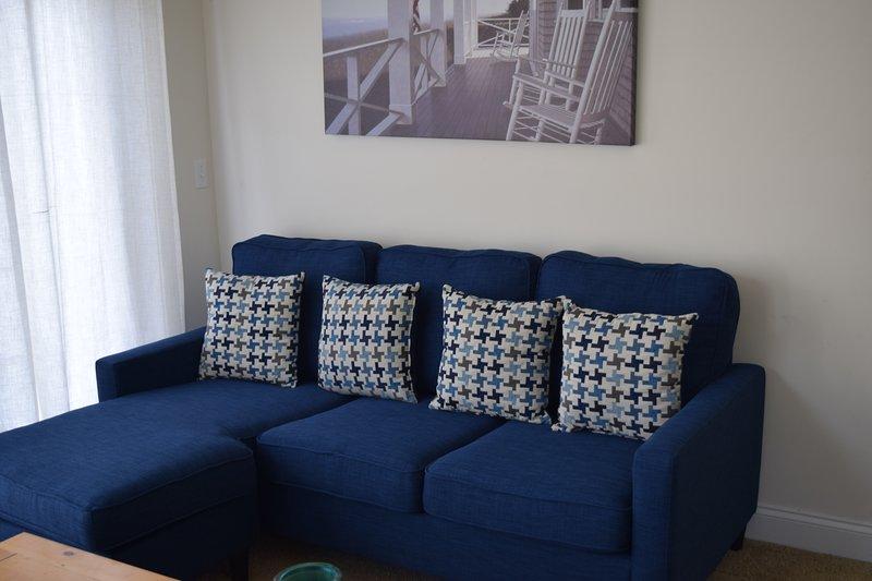2018- New Sleeper Sofa in the loft area