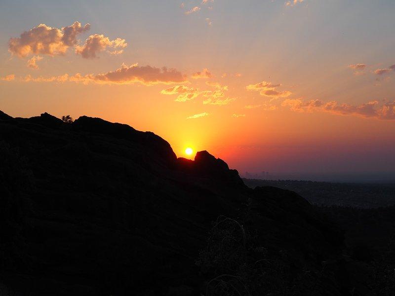Denver Sunset Skyline