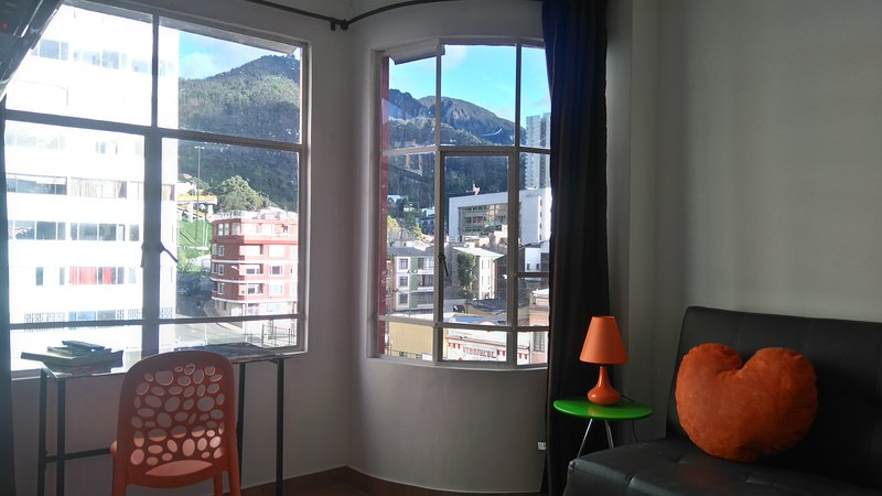 View from the livigroom