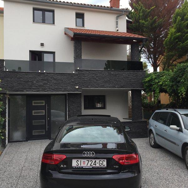 Villa Nera Modern apartments rental Zaboric
