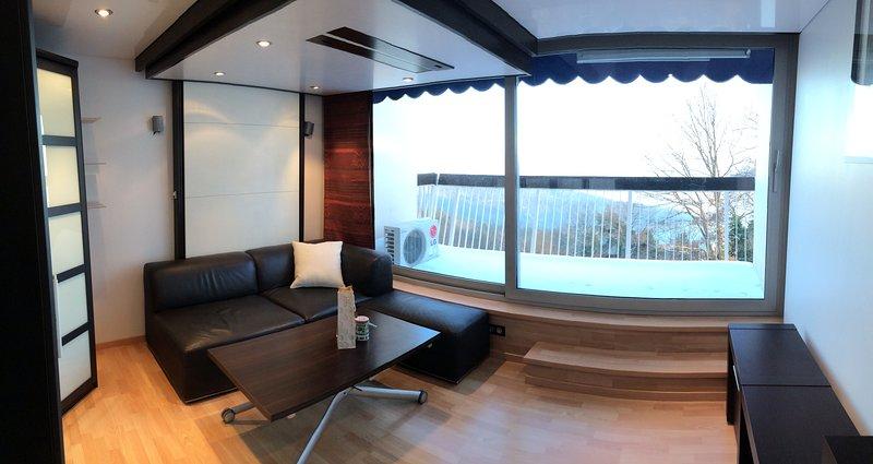 Studio contemporain climatisé haut de gamme en bordure de forêt, holiday rental in Trois-Epis