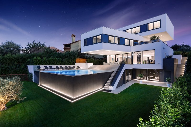 Modern Villa Lucy, in Istra, with a Pool, casa vacanza a Banjole