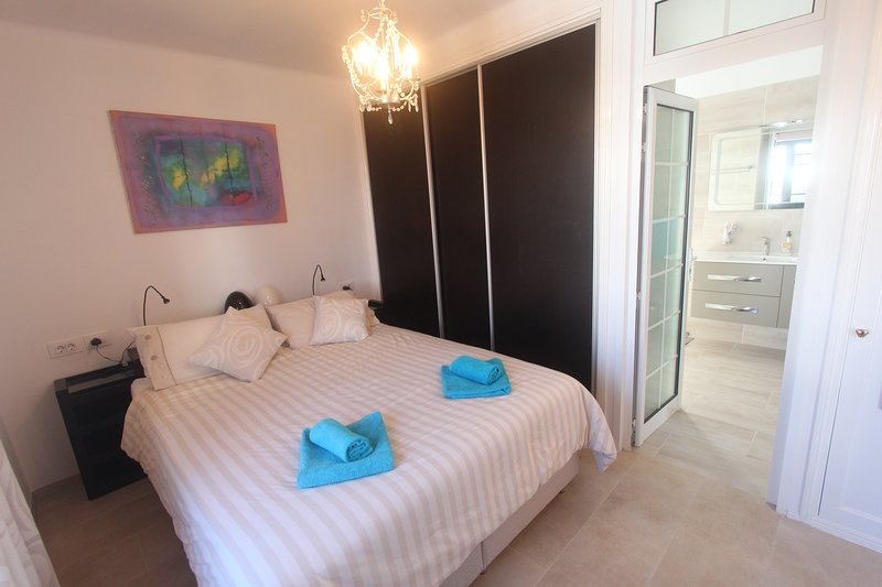 Master Bedroom with  En-suite with balcony.