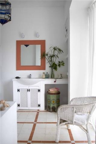 One of the seven ensuite bathrooms