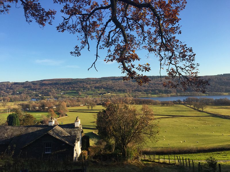 Views of Coniston Water from local walks